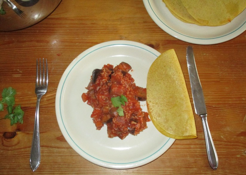 aubergine curry vegan suikervrij veganistisch e-nummervrij wortelen besan