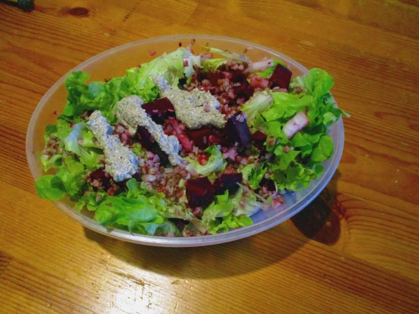 bietensalade glutenvrij suikervrij e-nummervrij lactosevrij vegan veganistisch