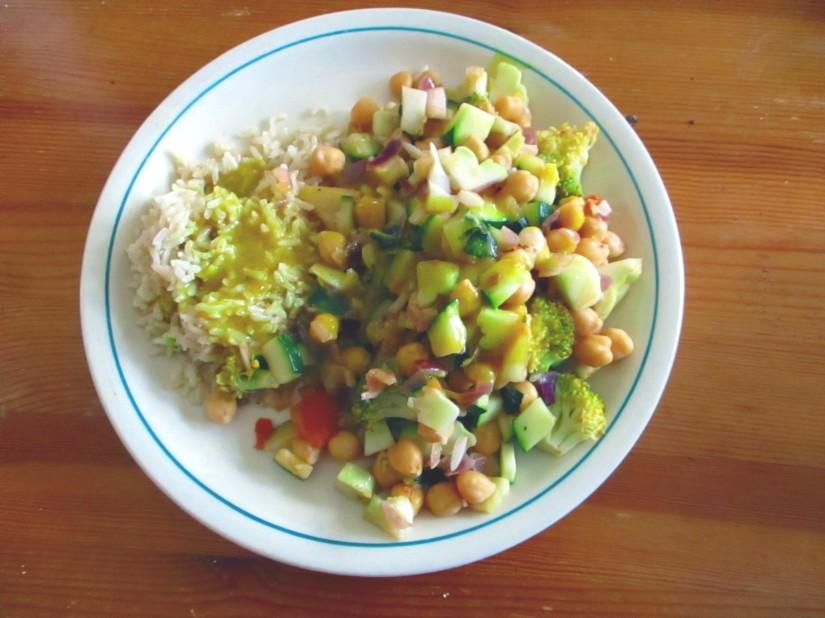 veganistische currysaus e-nummervrij zonder pakjes en zakjes lactosevrij glutenvrij vegan