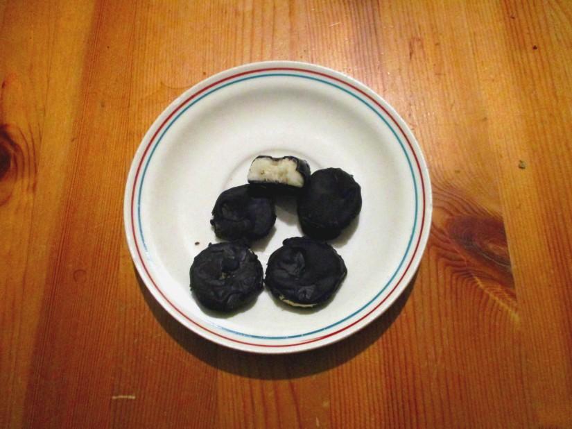 ijspralines met banaan oufti vegan veganistisch lactosevrij glutenvrij