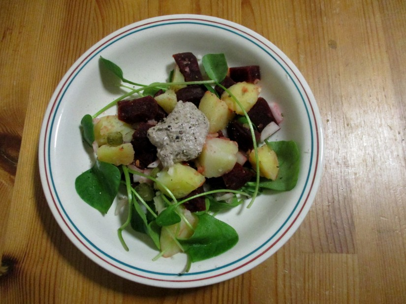 aardappelbietensalade