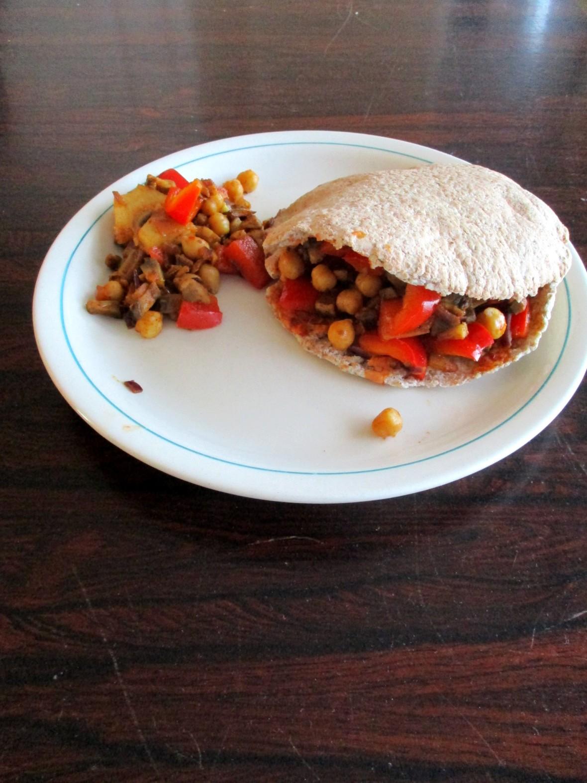 plantaardige pita vegan veganistisch enummervrij suikervrij