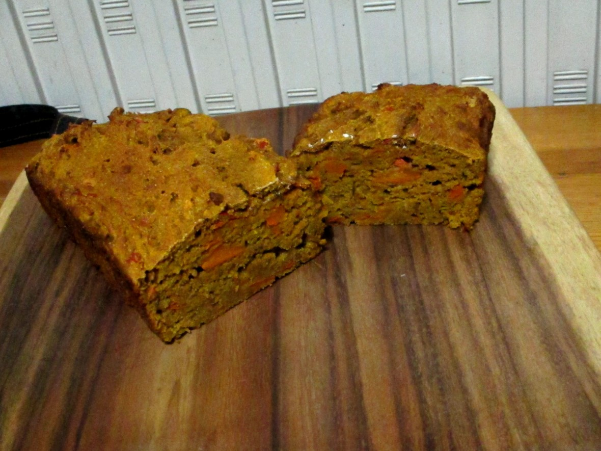 pompoenbrood suikervrij vegan veganistisch lactosevrij eivrij sojavrij