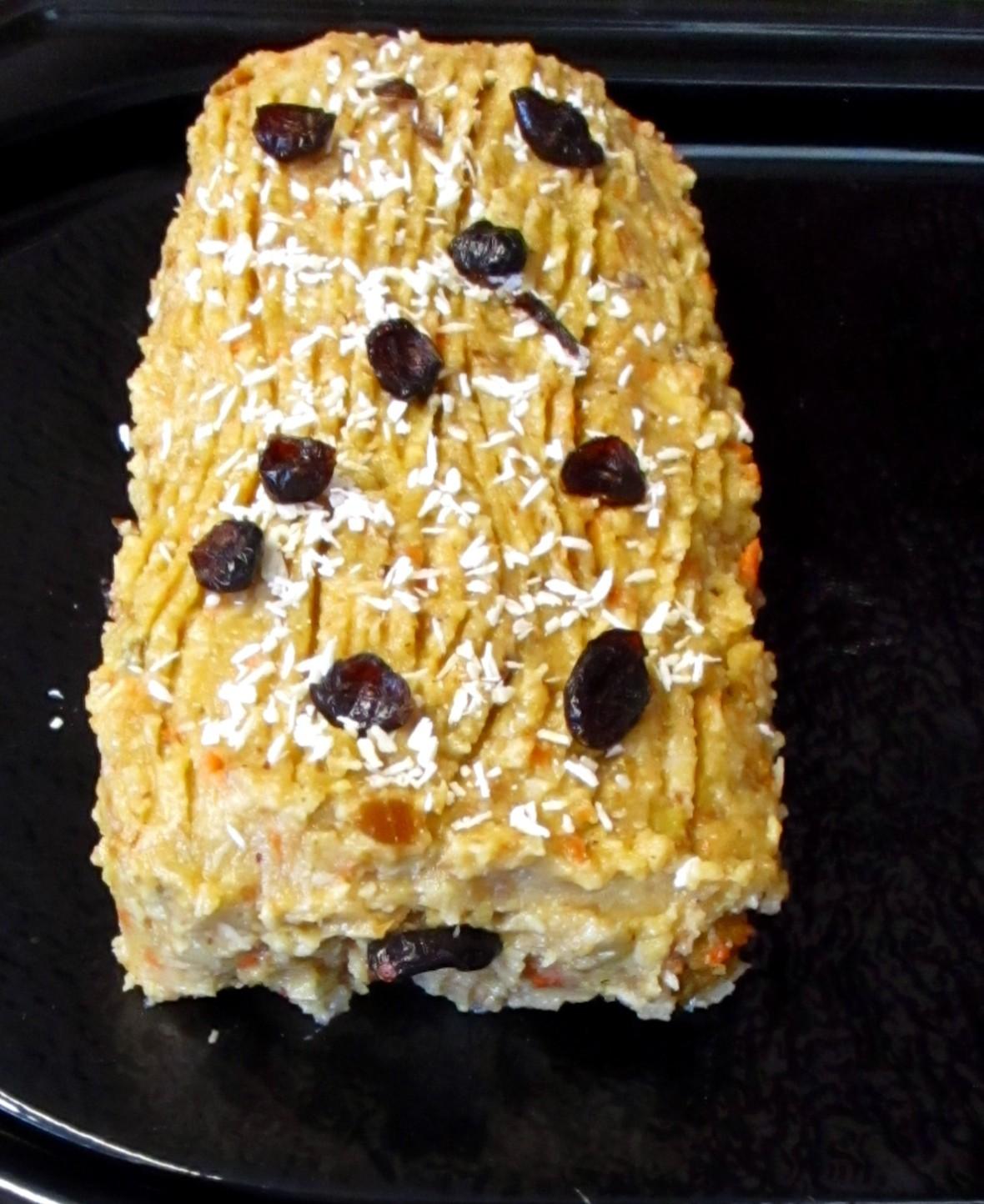 carrot cake suikervrij vegan veganistisch frosting lactosevrij eivrij
