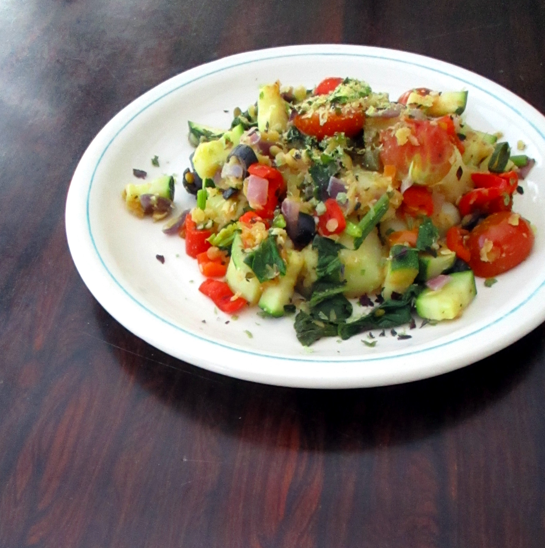 Italiaanse aardappels vegan veganistisch glutenvrij sojavrij