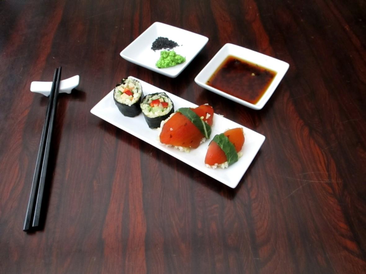 vegan maguro sushi veganistisch