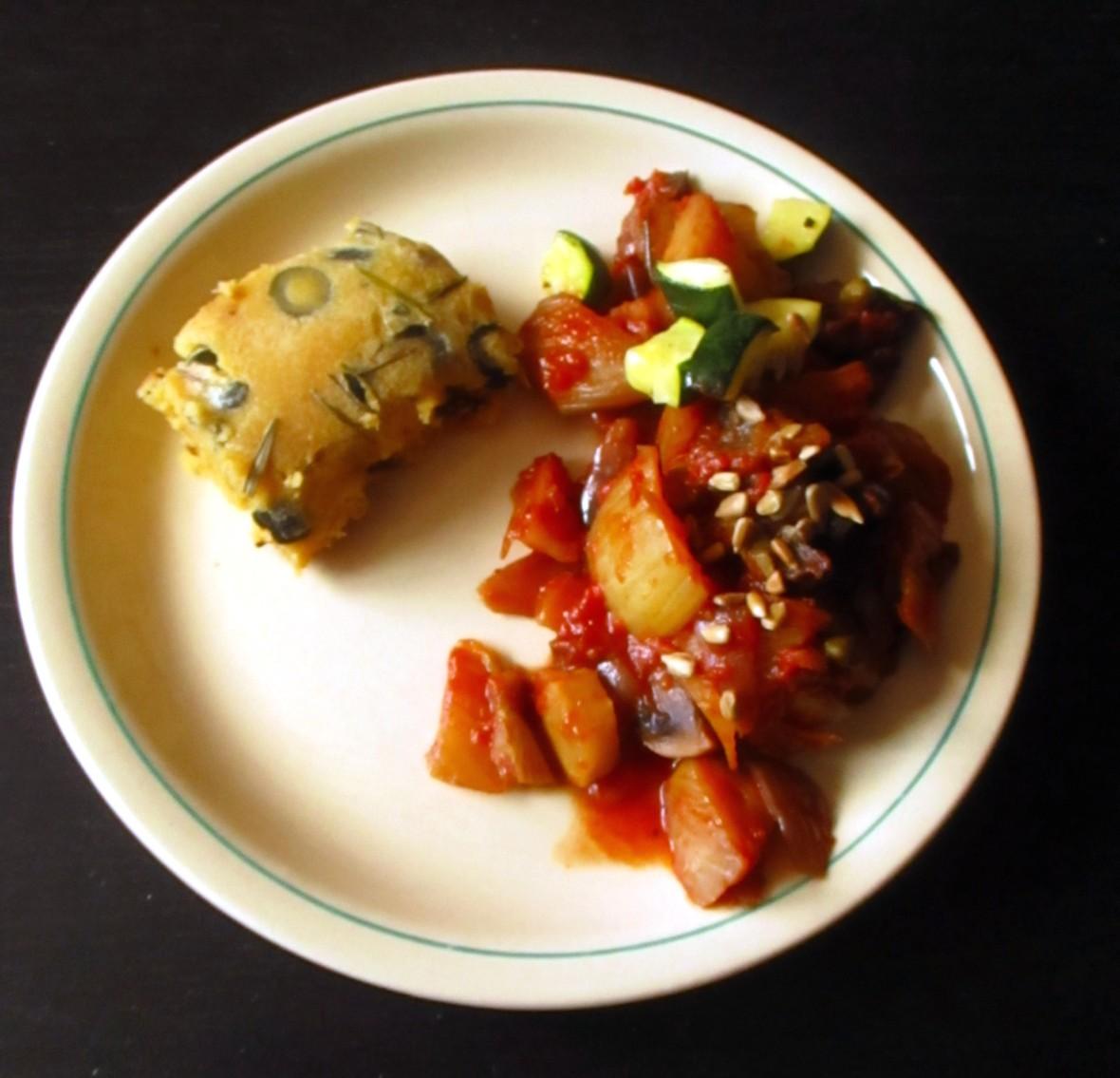 stoofpotje uit d eoven met farinata suikervrij vegan veganistisch glutenvrij sojavrij lactosevrij eivrij