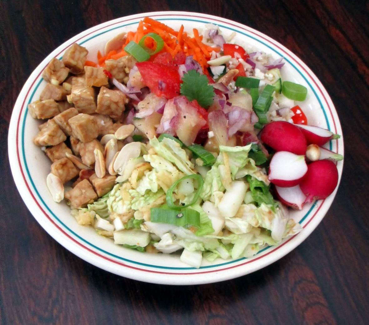 buddha bowl vegan veganistisch oosterse salade