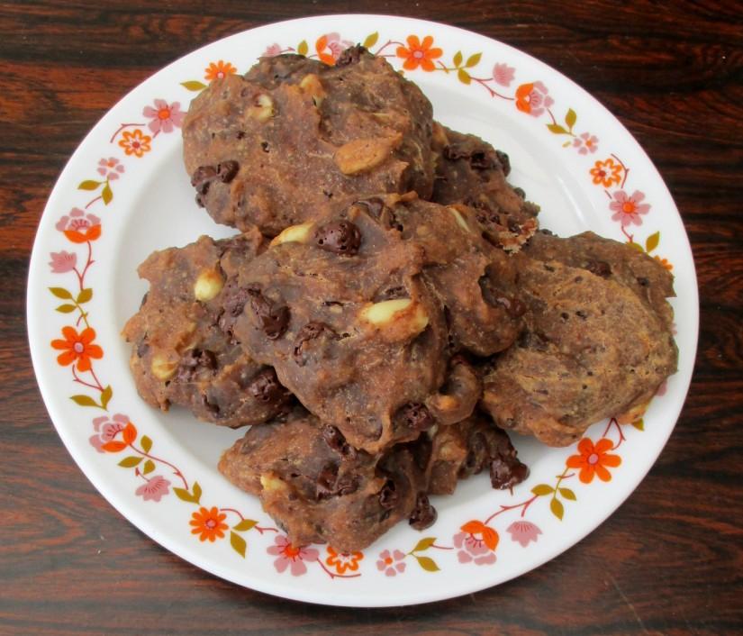 chocolate chip cookie vegan sojavrij plantaardig vegan veganistisch eivrij suikervrij