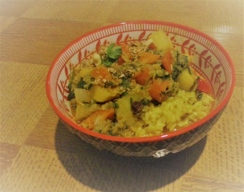 basisrecept groentencurry vegan veganistisch zero waste suikervrij sojavrij lactosevrij glutenvrij